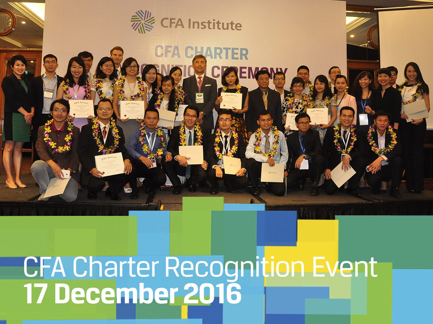 CFA Charter Recognition Ceremony