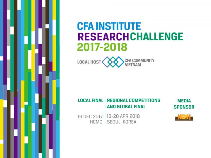 CFA Research Challenge Vietnam 2017-2018