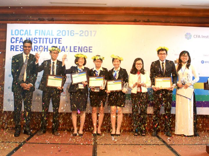 Foreign Trade Univerity HCMC Won CFA Institute Research Challenge in Vietnam 2016-2017