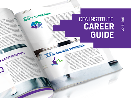 CFA Institute career guide 2015-2026