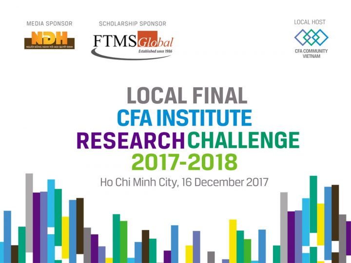 Chung ket cuoc thi Research Challenge 2017-2018, Final Local Round of the CFA Institute Research Challenge 2017-2018