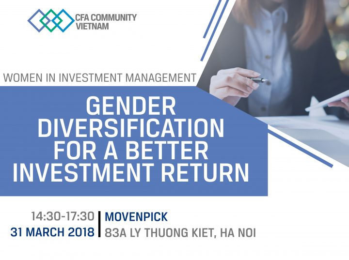 WIM 2018: Gender Diversification for a Better Investment Return